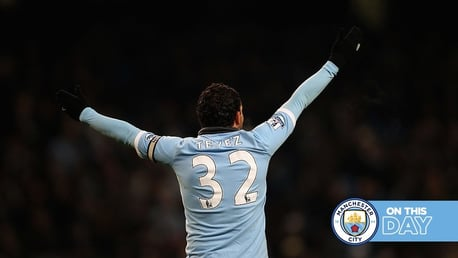 On this day: Tevez inspires City to Wigan win and the name's Bond... Kevin Bond