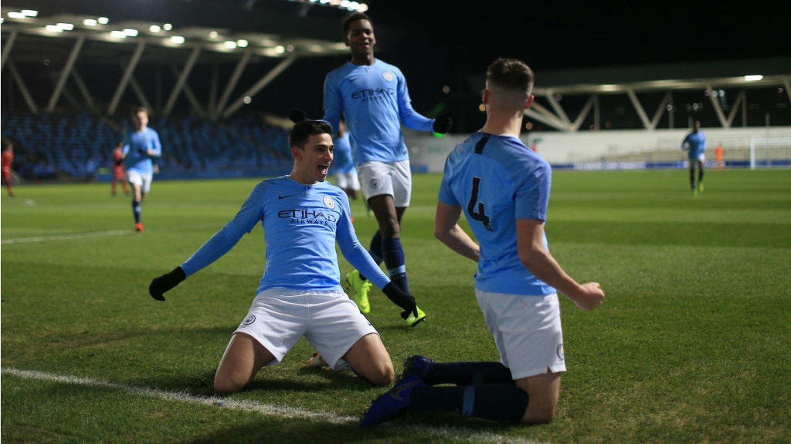 City face à United en demi-finale de U18 PL Cup