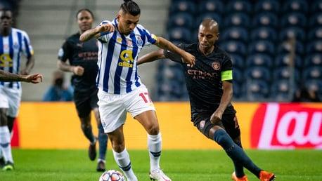 Fernandinho satisfied with Porto point