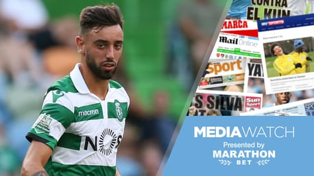 RUMOURS: It's claimed City are in 'pole position' for Bruno Fernandes