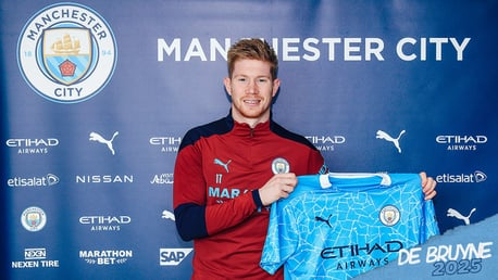 Kevin De Bruyne: I want to be a leader at this Club