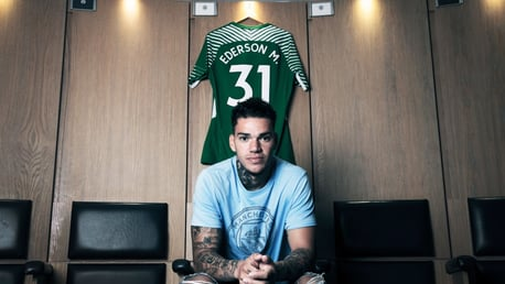 Ederson signs for City in 2017