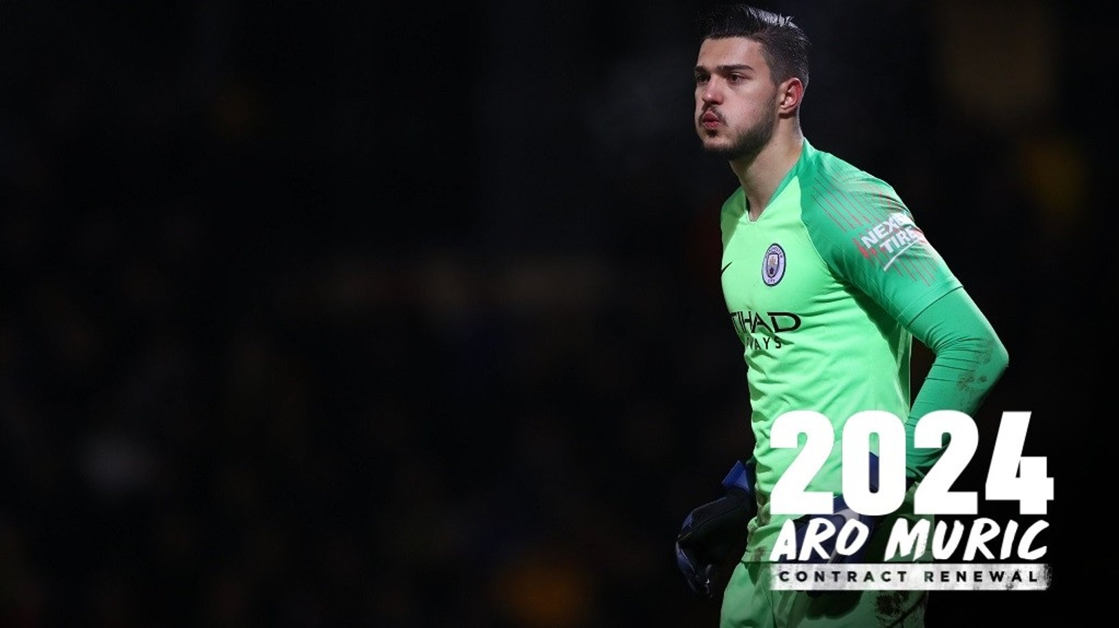 Muric loaned to Forest after signing new City deal