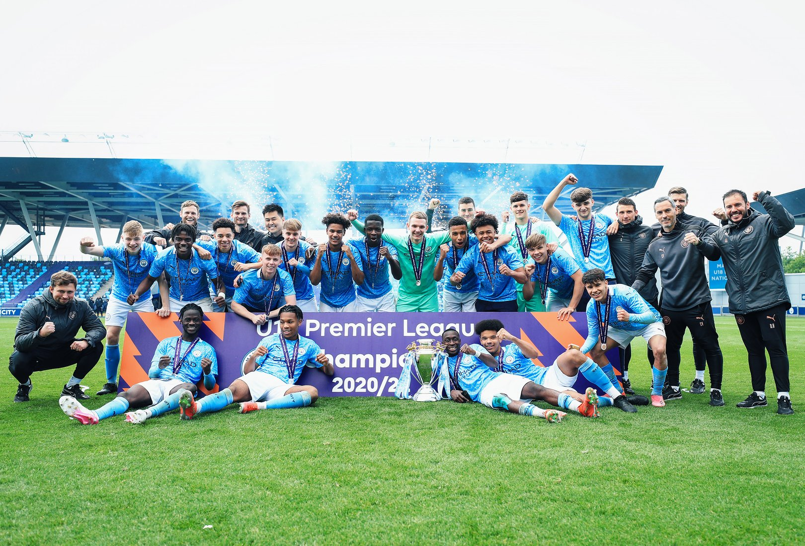 Under-18 National glory perfect way to end 'amazing' season, says Vicens