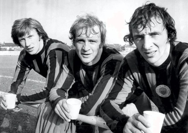 HOLY TRINITY: Bell, Lee and Summerbee
