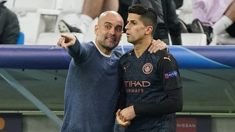 Guardiola brings the very best out of City, says Cancelo