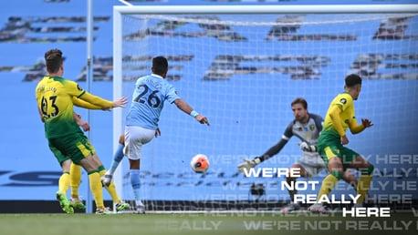 City 5-0 Norwich: Brief highlights