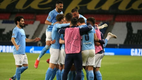 City stage superb fightback to stun Paris-Saint Germain