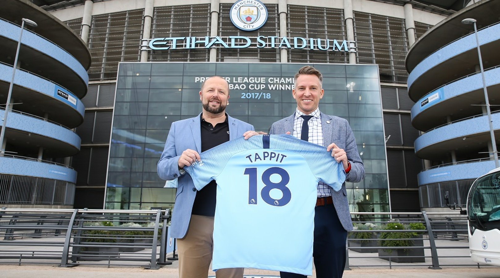 Man City secures partnership with tappit