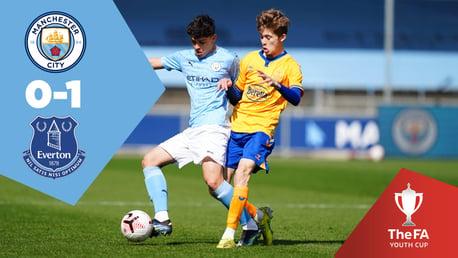 City U18s 0-1 Everton: Full-match replay