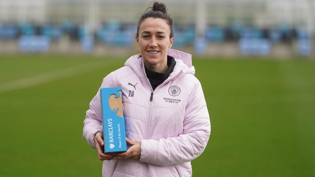 Lucy Bronze: jogadora do mês da FA WSL
