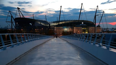 City proudly supporting Coronavirus vaccination centre at the Etihad Campus