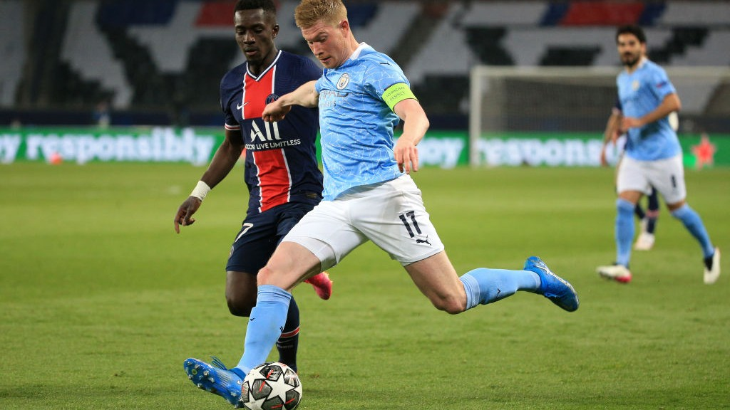 LEVEL BEST: KDB draws us level