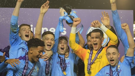 U18s confirmed as national champions