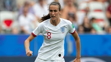 BIG PICTURE: City and England midfielder Jill Scott expressed the importance of three points despite an imperfect performance in Sunday's World Cup win over Scotland in Nice.