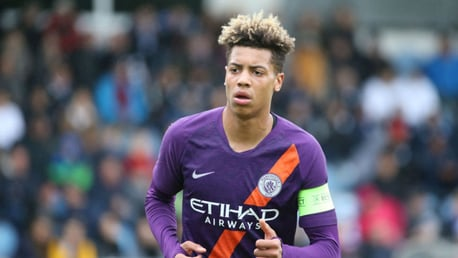 GROUNDS FOR OPTIMISM: Felix Nmecha believes that Manchester City's EDS squad are on an upward curve