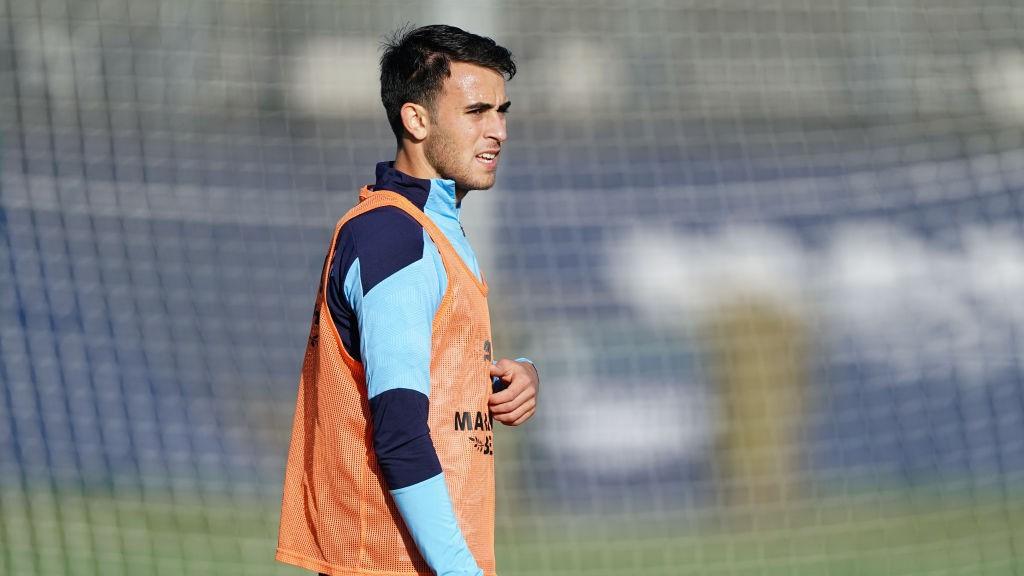 إيريك جارسيا ينضم إلى برشلونة