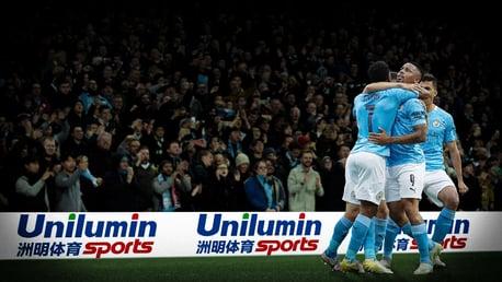 Manchester City lance un partenariat avec Unilumin Sports