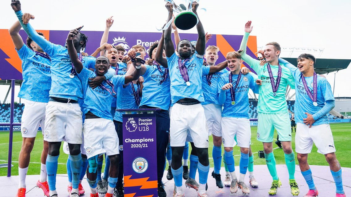 City secure Under-18 Premier League National title with Fulham victory