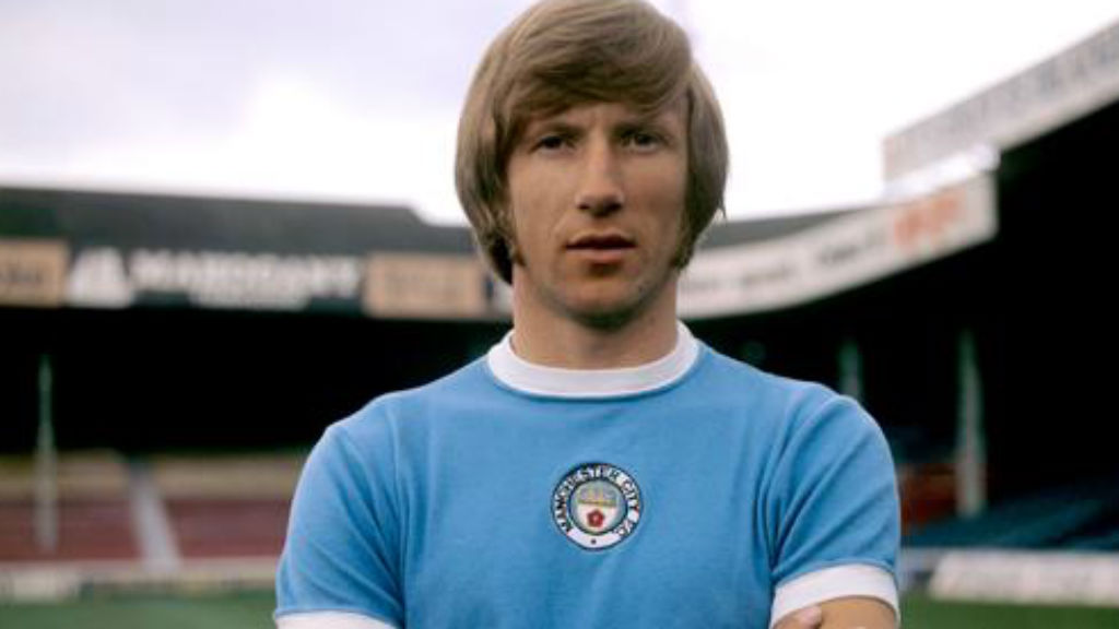 PEERLESS TALENT: Colin Bell during his City heyday