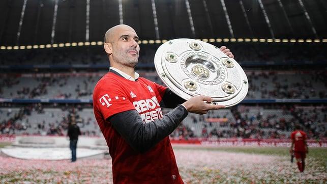 Drei-in-Drei : Pep wins three Bundesliga titles in three years at the Alianz Arena