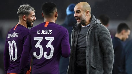 Pep 'praying' for players to return safe and well