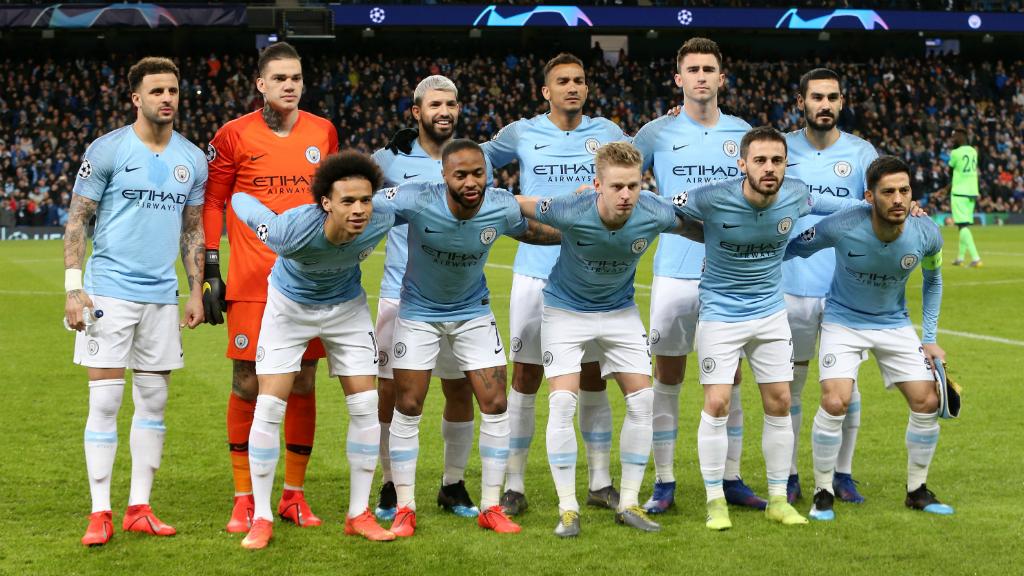 THE CHOSEN XI : City's starting line-up...