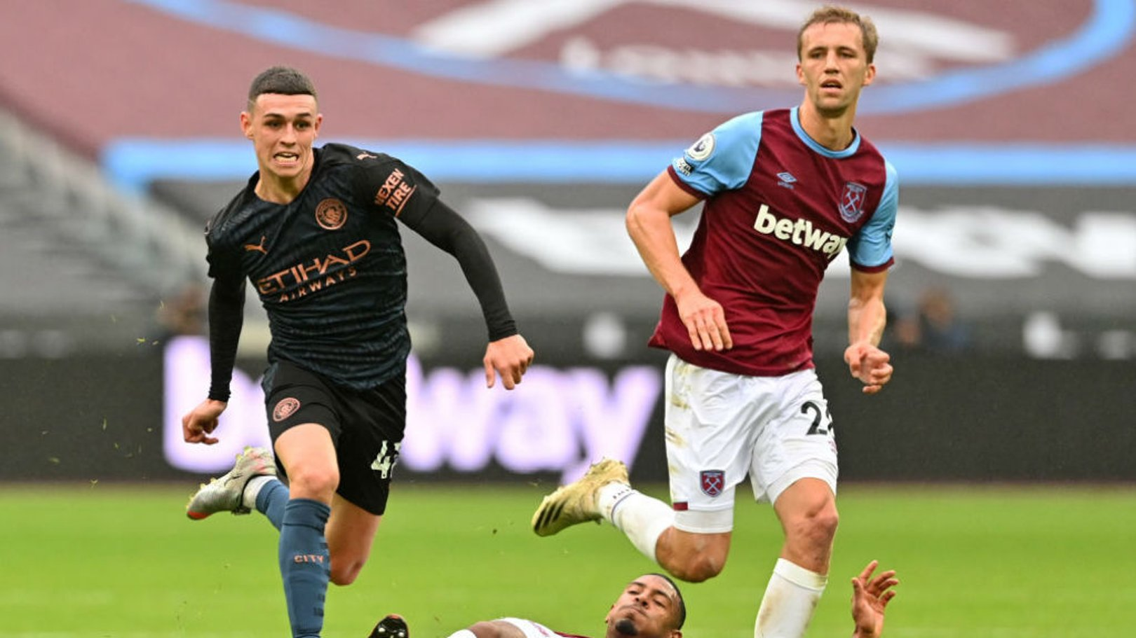 Mixed emotions for Foden after Hammers strike
