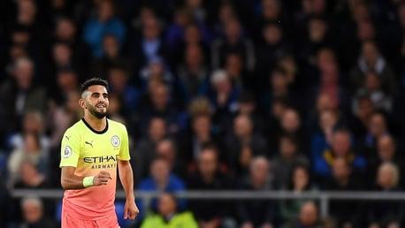 MAHREZ STUNNER: Riyad's goal capped a superb all-round display