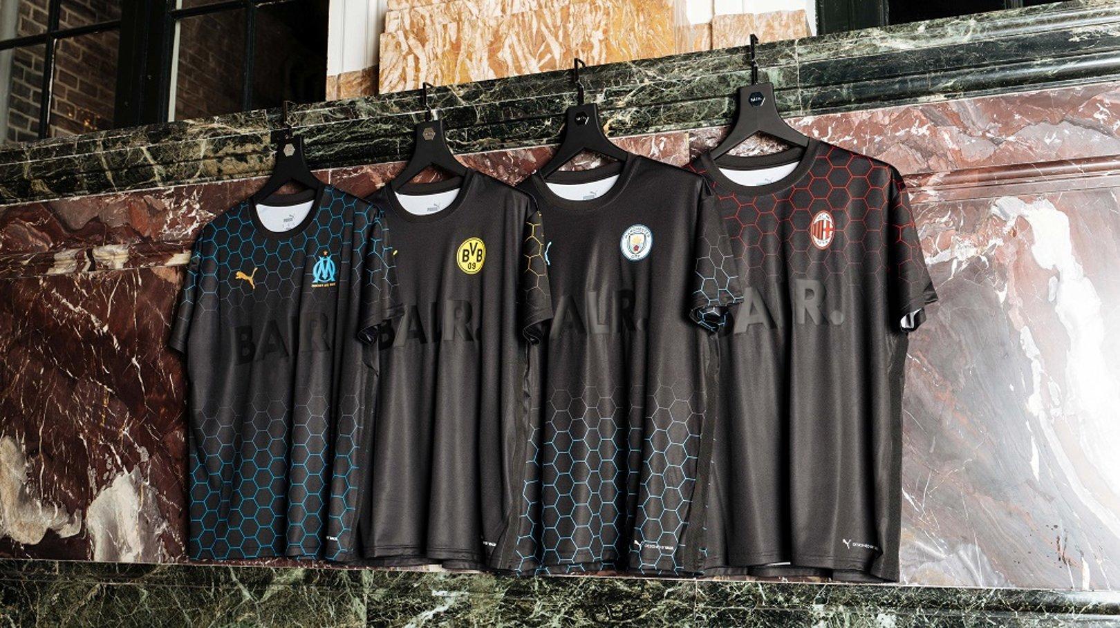 PUMA launch new X CITY X BALR jersey