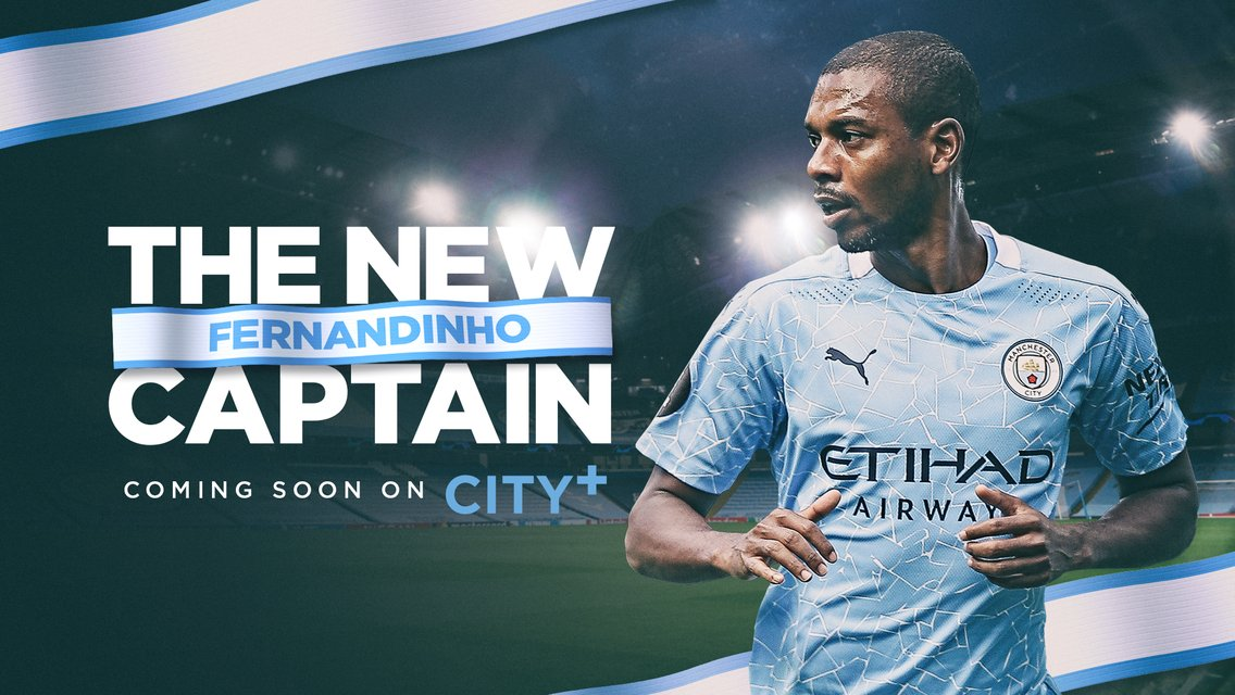 Fernandinho - The New Captain: Coming soon to CITY+