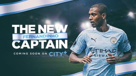 CITY+ | '페르난지뉴 – 더 뉴 캡틴' coming soon
