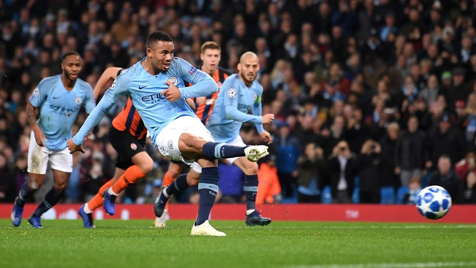 SPOT-ON : Gabriel Jesus coolly slots home City's second