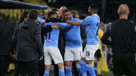 City vence de virada e está nas semifinais da Liga dos Campeões